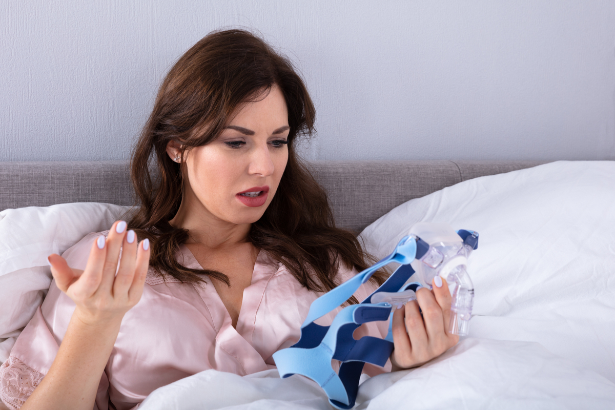 Can't Tolerate CPAP? | Samuels Dental Arts PC